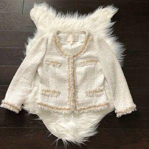 [Mcginn] Nordstrom Natalie Tweed Jacket Blazer
